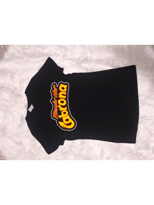 Women's round neck t shirt stretch fabric 100% cotton 5 DIFERENTS PRINT