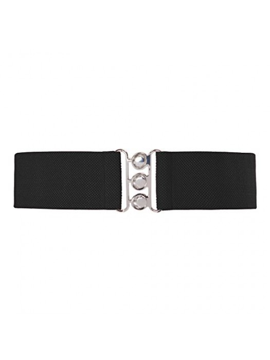 Hell Bunny Vintage Retro Style Clasp Buckle Belt