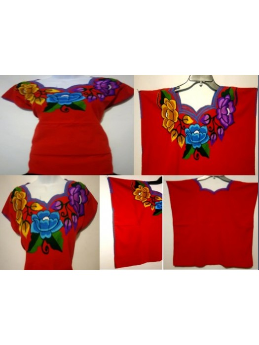 Beautiful handmade embroider tops one size small to XL