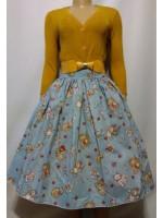 Woman's retro Vintage circle skirt