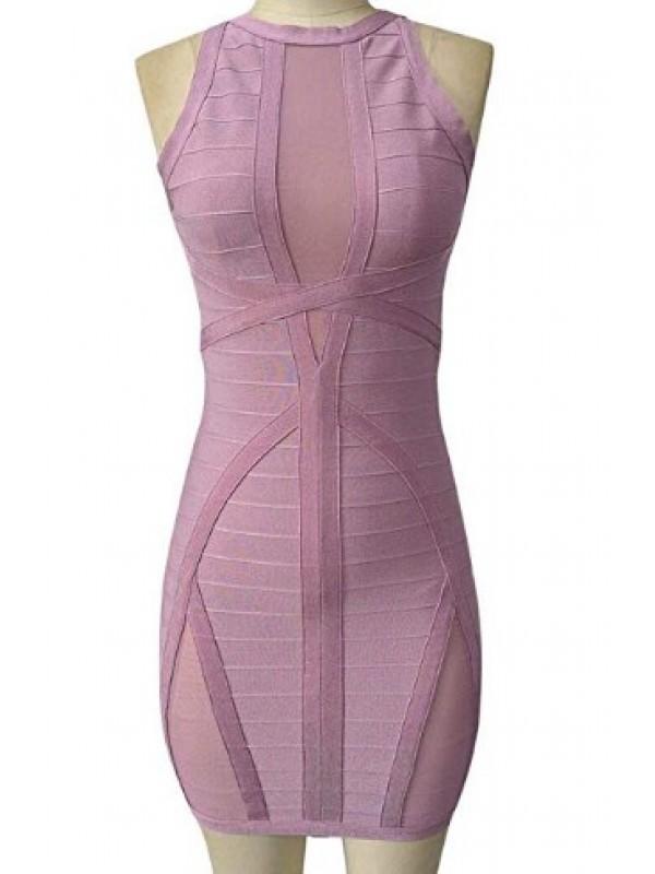 Women's Sleeveless Bodycon Bandage Dress