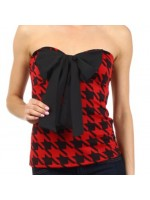 women's Sexy strapless top with front design