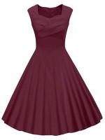 Women's Heart neck design Dress